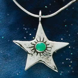 Bright Star with 2 Stones